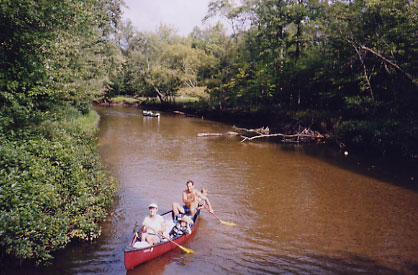 Canoe Northern Michigan on the Muskegon River at White Birch